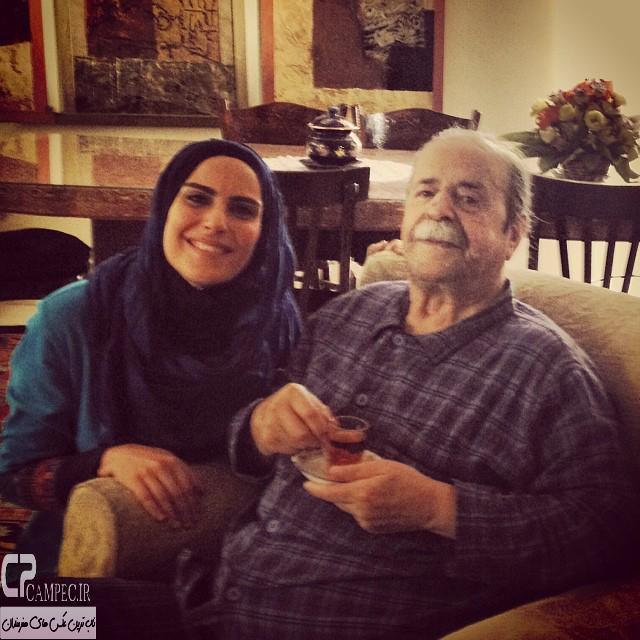 افتخار سعیدی و محمد علی کشاورز