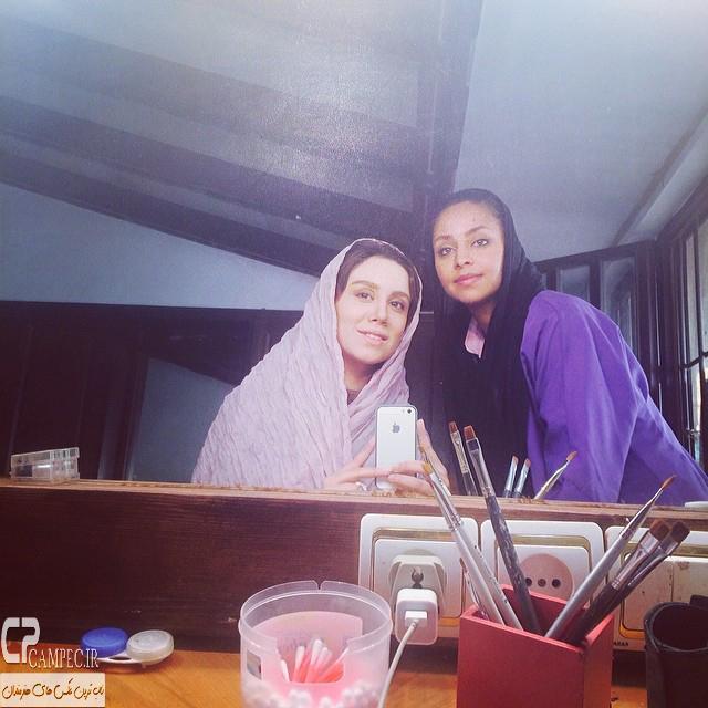 نوش آفرین رحمانی بازیگر سریال انقلاب زیبا