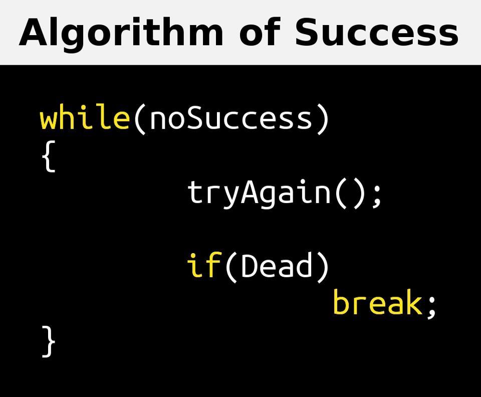 الگوریتم موفقیت