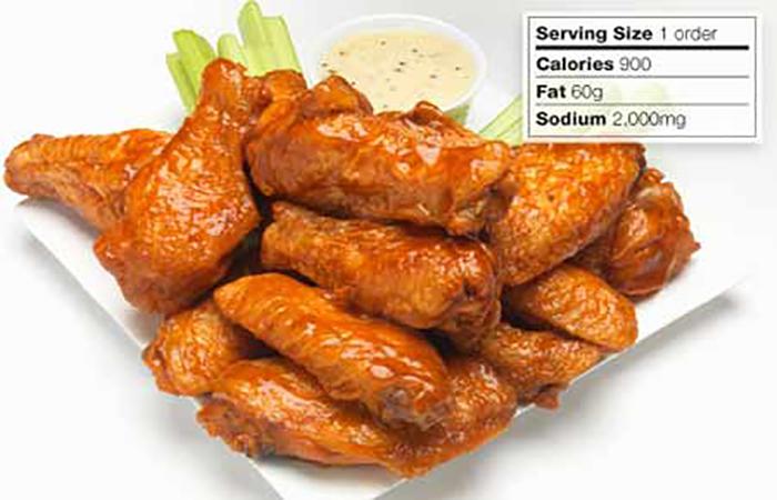 تغذیه: هرگز بال مرغ را قبل از خوابیدن میل نکنید