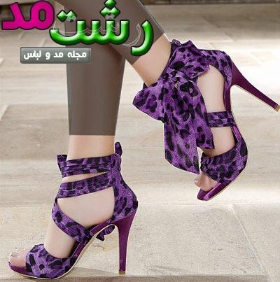 مدل کفش پاشنه بلند فشن مجلسی دخترانه زنانه 2014