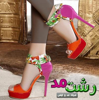 مدل کفش پاشنه دخترانه زنانه 2014