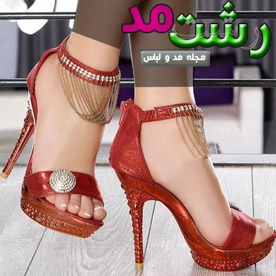 مدل کفش پاشنه بلند دخترانه زنانه 2014