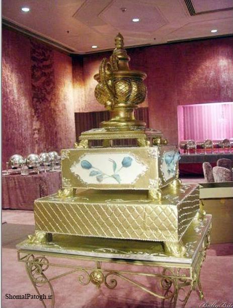 بزرگ ترین کیک های عروسی ۲۰۱۴