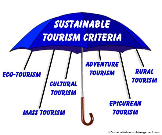 اصول گردشگری پایدار