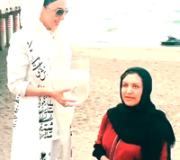 کلیپ چالش سطل آب یخ رویا تیموریان توسط لیلا بلوکات