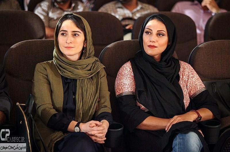 شبنم مقدمی و سهیلا گلستانی بازیگران فیلم سینمایی امروز