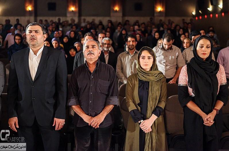 عکس های مراسم تقدیر از عوامل فیلم سینمایی امروز