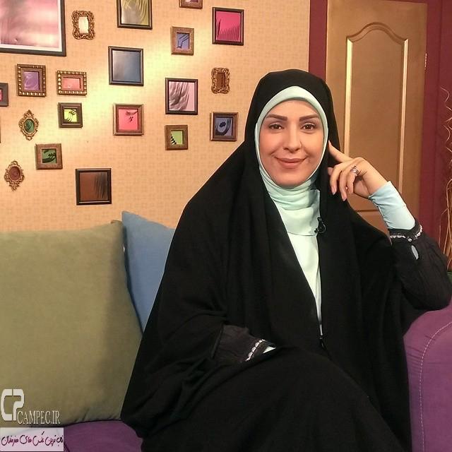 فاطمه محمدی مجری شبکه آی فیلم