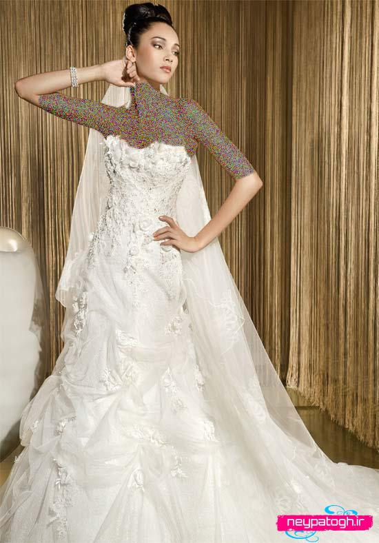 .::: مدل جديد لباس عروس شیک :: neypatogh.ir :::.