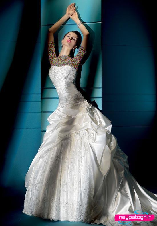 مدل جديد لباس عروس,لباس عروس neypatogh.ir
