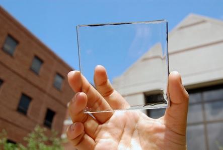 ساخت پنل های خورشیدی شفاف با قابلیت استفاده به جای پنجره