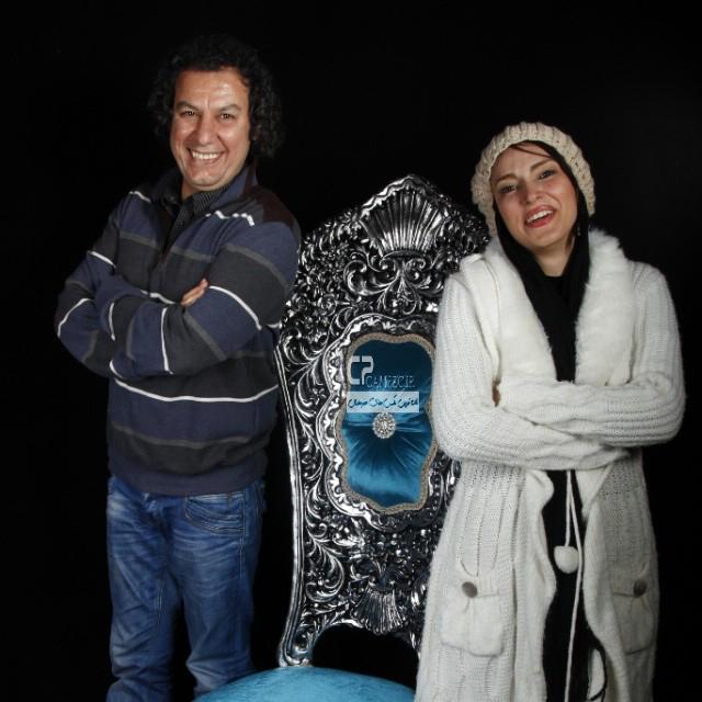 سروین رفیعیان و آرش میر احمدی