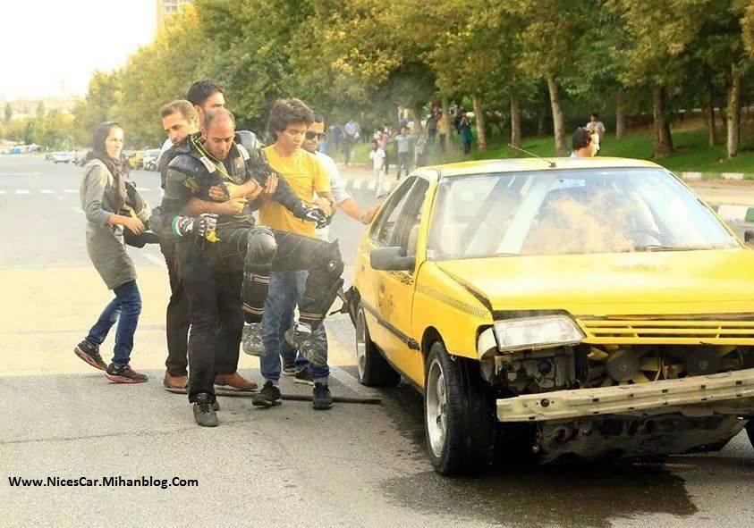 بدلکاری با تاکسی