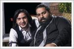 تصاویری از جشن تولد محسن یگانه در کنار رضا صادقی