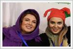 رویا تیموریان , فاطمه گودرزی و لیلا بلوکات در استادیوم آزادی