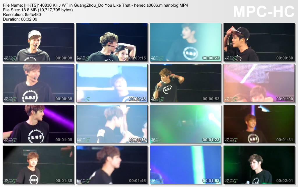 [Fancams] Kim Hyun Joong 2014 Phantasm World Tour in Guangzhou, China [14.08.30]