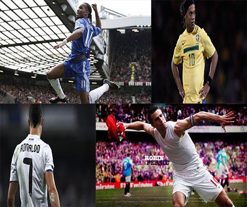 گلچین جدیدترین عکس ها از بازیکنان فوتبال