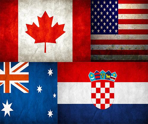 عکس پرچم کشور های مختلف