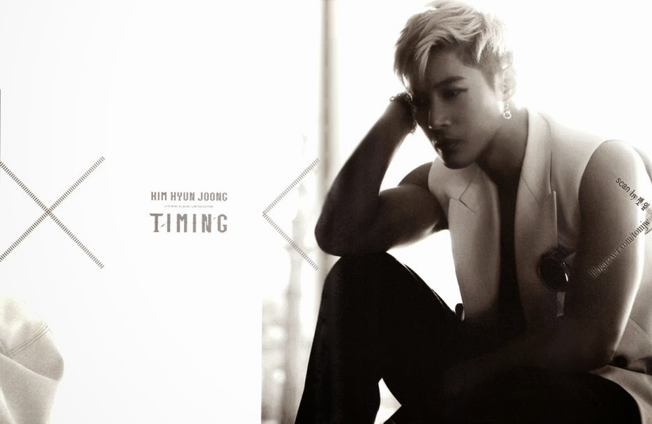 tomjw Scan_Kim Hyun Joong Timing Limited Edition