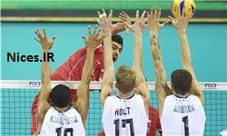بازی والیبال ایران آمریکا