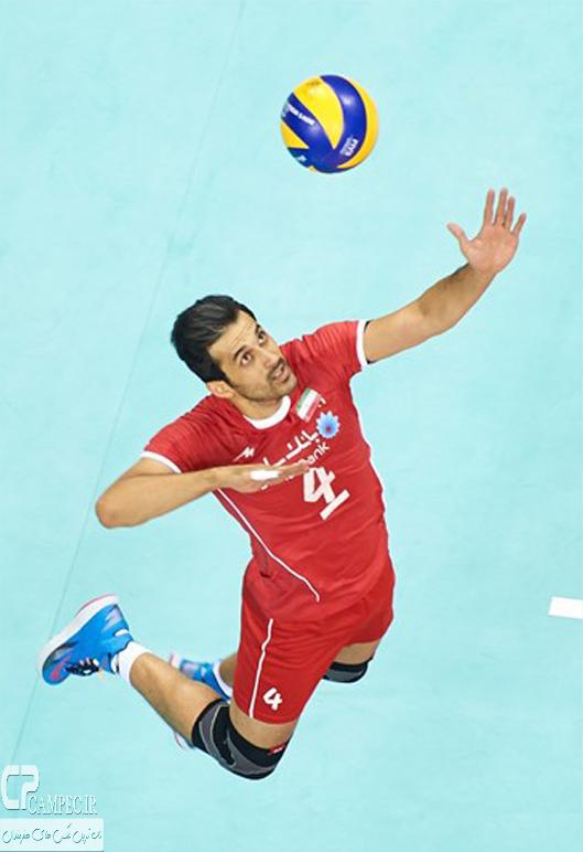 عکس های پیروزی والیبال ایران بر آمریکا