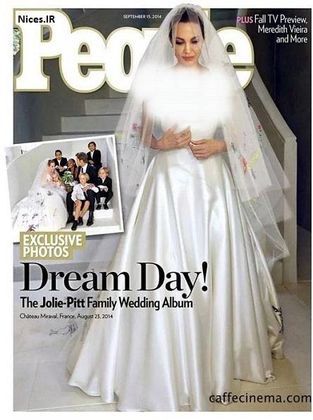 عروسی آنجلینا جولی
