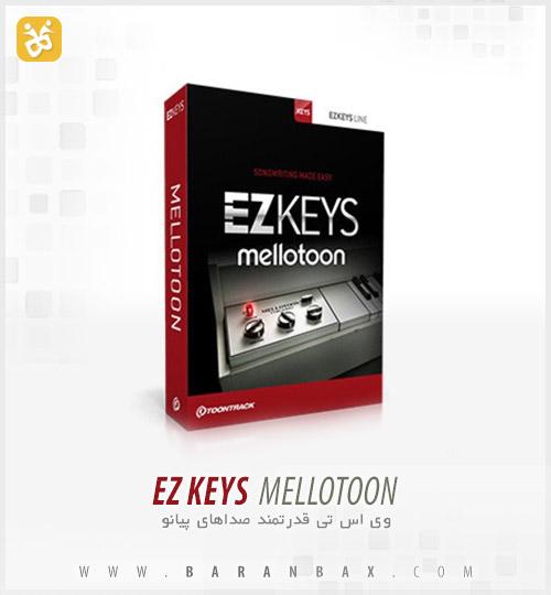 mellotoon دانلود وی اس تی پیانو Toontrack EZkeys Mellotoon