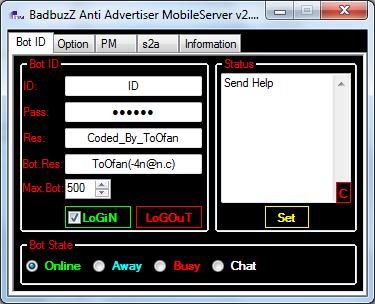 BadbuzZ Anti Advertiser MobileServer v2.0 By ToOfan Adv2