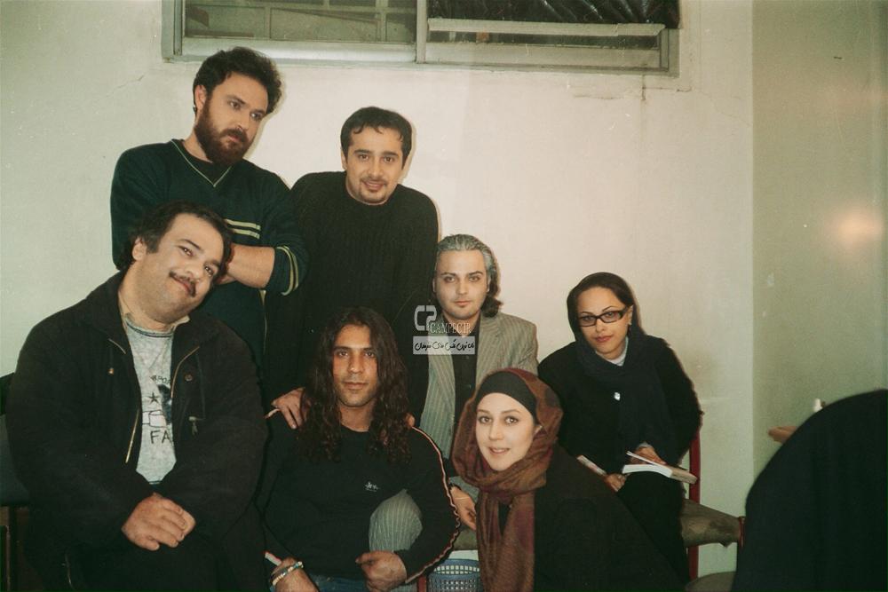 زهرا امیر ابراهیمی،مهدی سلوکی،سپند امیر سلیمانی و علیرضا کمالی بازیگران سریال نرگس