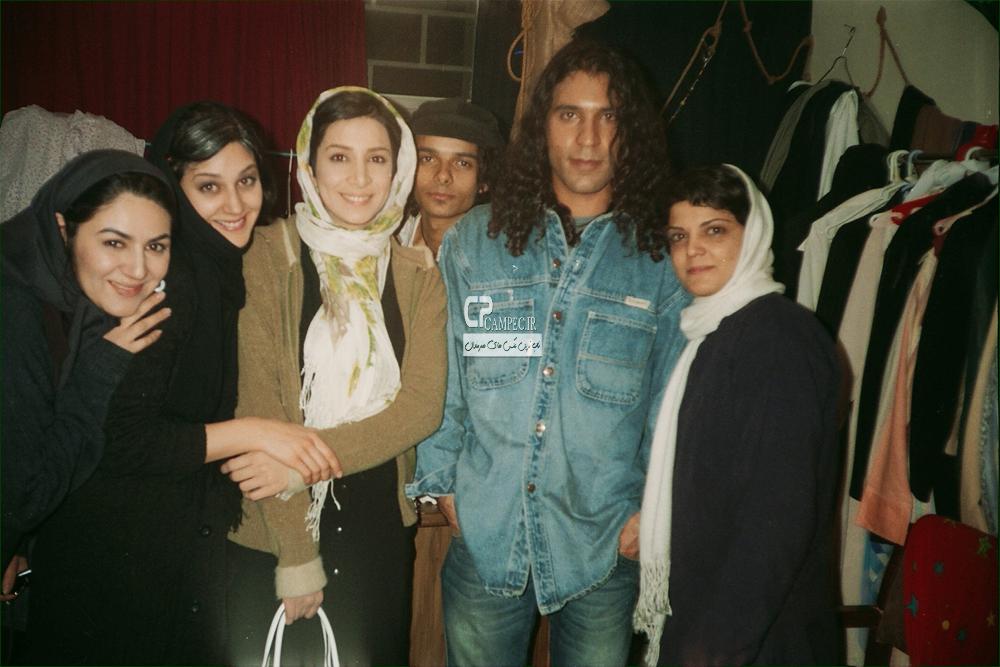 عاطفه نوری،زهرا امیر ابراهیمی و ستاره اسکندری بازیگران سریال نرگس