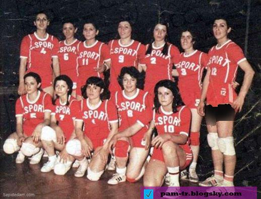 دختران والیبالیست ایرانی