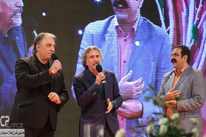 رضا توکلی و ایرج نوذری در جشن نفس