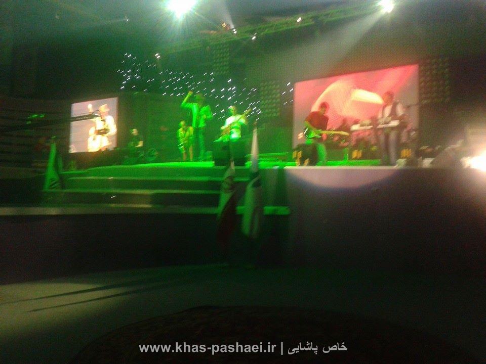 عکسهای کنسرت 14 شهریور مرتضی پاشایی در کیش