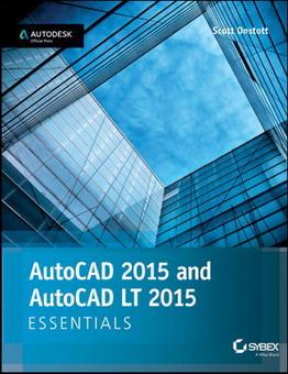 دانلود کتاب آموزش پایه اتودسک اتوکد 2015 و اتوکد محدود 2015 AutoCAD 2015 and AutoCAD LT 2015 Essentials