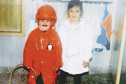 عکسی از کودکی لیونل مسی که غوغا به پا کرده است+عکس