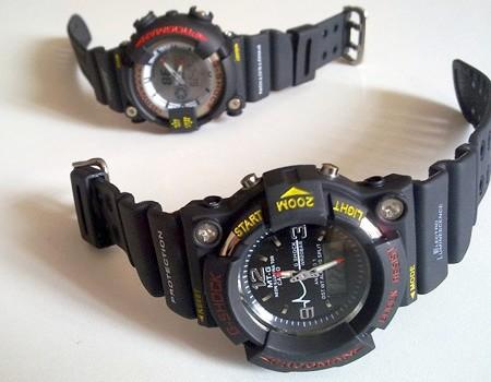 خرید ساعت مچی دو زمانه جی شاک پسرانه