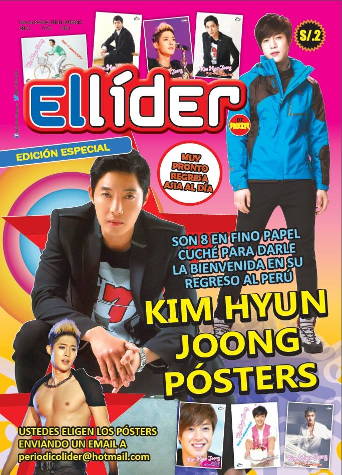 [Scans] Kim Hyun Joong In The World Press [July-August 2014]