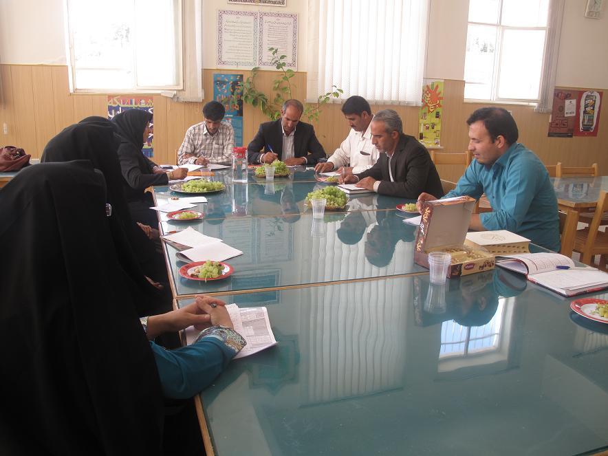 جلسه شورای اداری شهرستان خدابنده