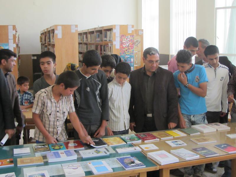 فعالیتهای فوق برنامه کتابخانه های عمومی شهرستان خدابنده