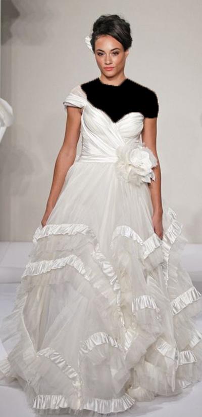 مدل لباس عروسی خارجی