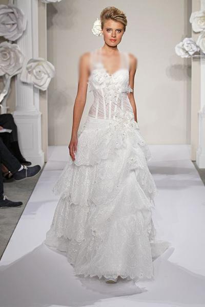 لباس عروسی خارجی