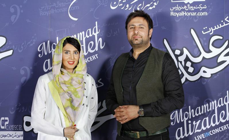 لیلا بلوکات و محمد علیزاده