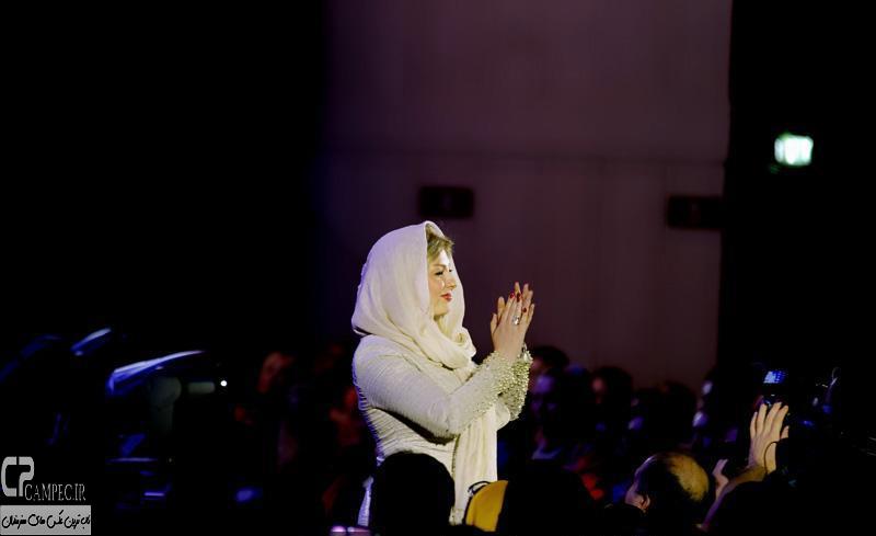 نیوشا ضیغمی در کنسرت محمد علیزاده