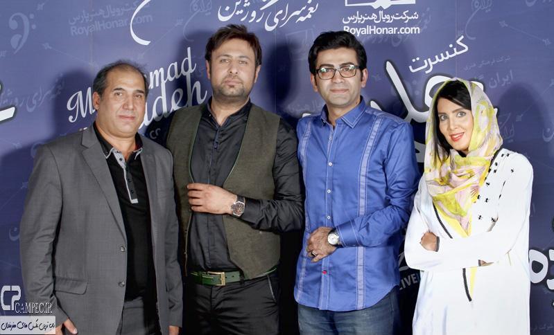 لیلا بلوکات و فرزاد حسنی در کنسرت محمد علیزاده