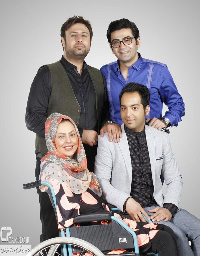 فرزاد حسنی و سولماز و احسان در کنسرت محمد علیزاده