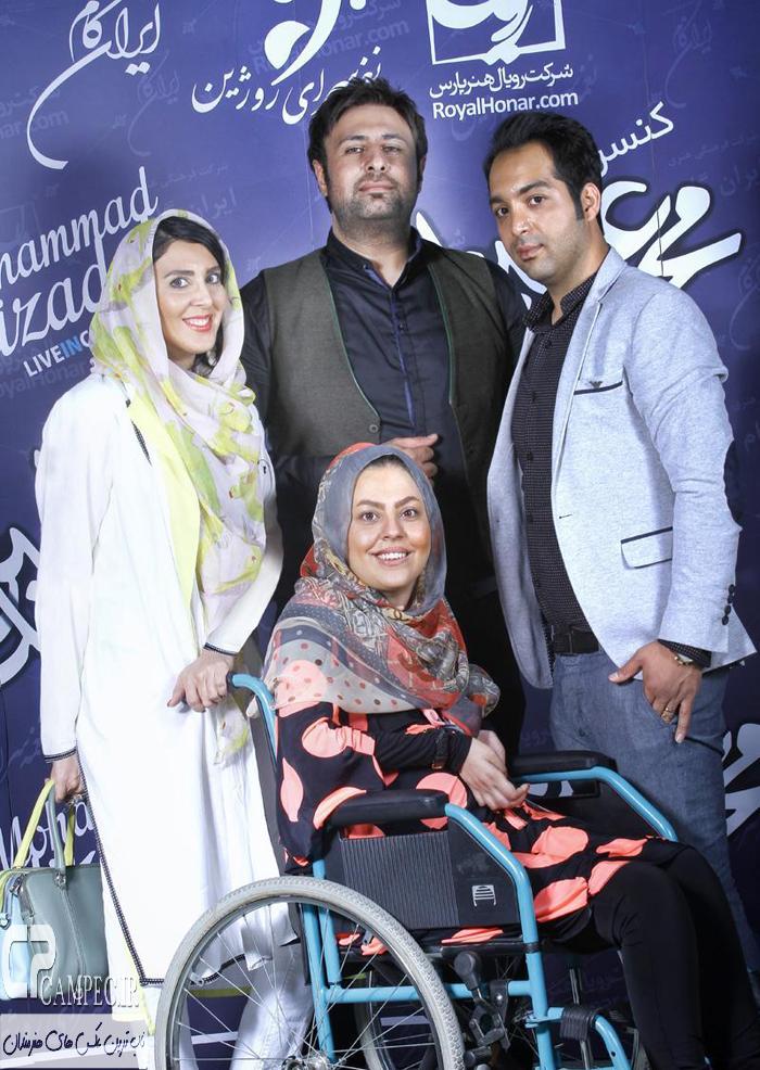 احسان و سولماز و لیلا بلوکات در کنسرت محمد علیزاده