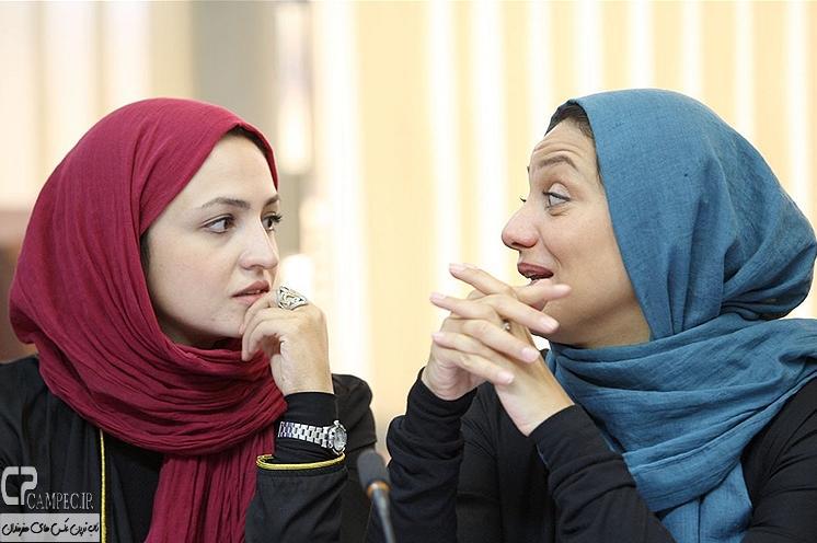شبنم مقدمی و گلاره عباسی بازیگران سریال مدینه