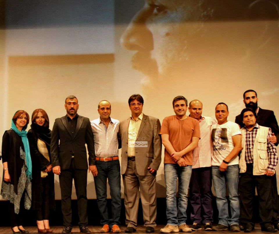 لیلا اوتادی در مراسم اکران فیلم کلاف