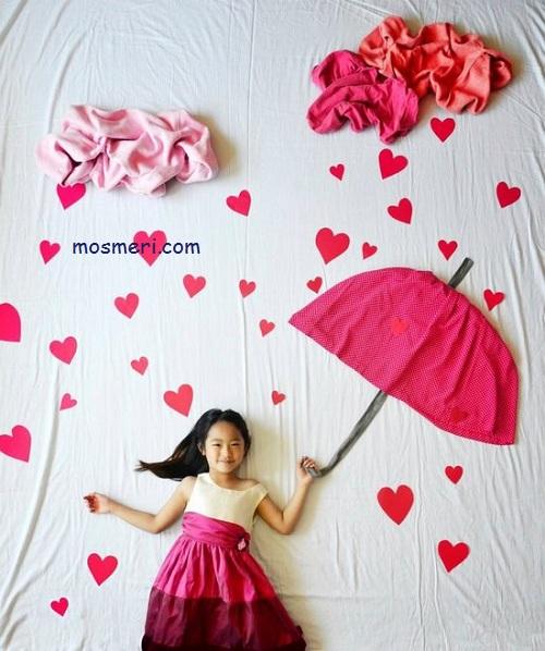چگونه از کودک خود عکس های خلاقانه بگیریم؟